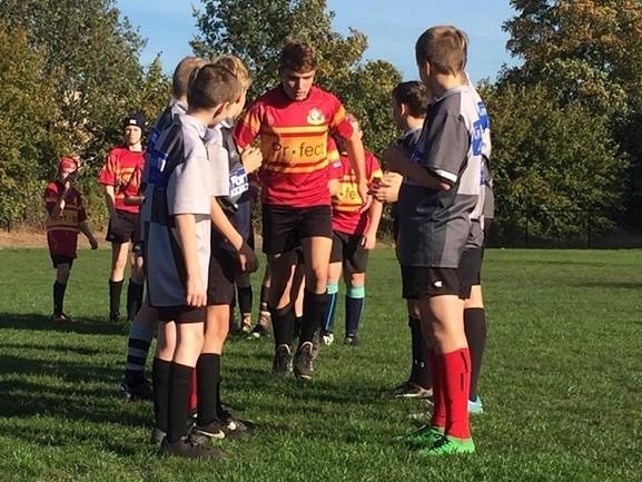 Rugbyclub The Big Bulls brengt respect bij de spelertjes er al vroeg in