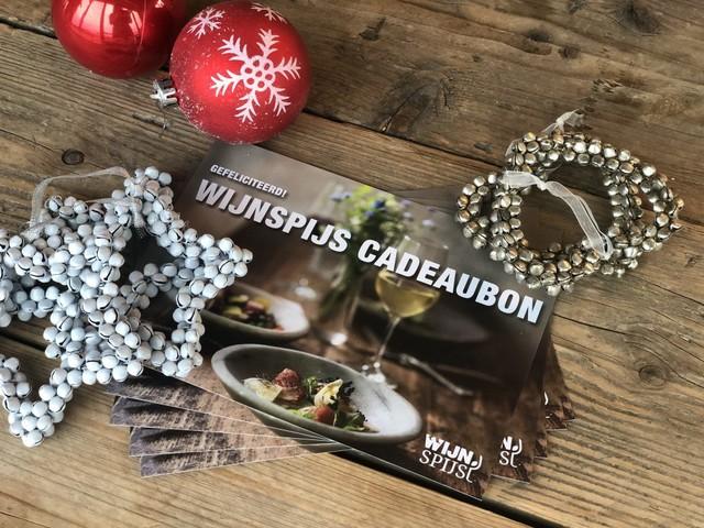 WIN: WijnSpijs cadeaubon