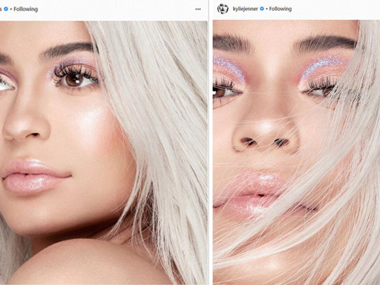 Pregnant Kylie Jenner Keeps The Crops Tight For Cosmetics Social Media Posts