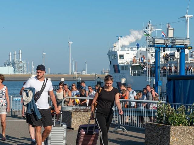 Schotten vrezen brexitdrukte in Dover en willen veerdienst met Eemshaven