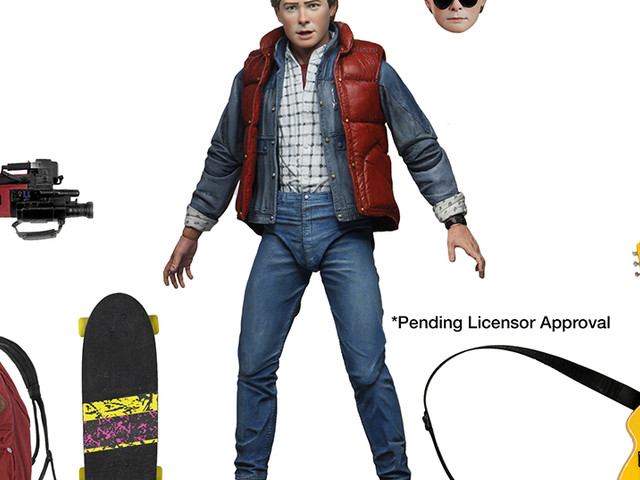 New line of Back to the Future collectibles from NECA Announced