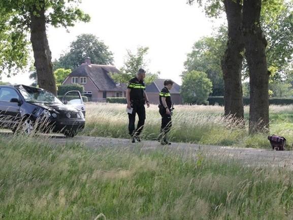 Fietser omgekomen bij aanrijding met auto in Lemelerveld