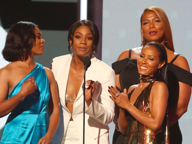 "Sounds About White: Jada Pinkett Drags ""Girls Trip"" Neglecting Golden Globes For Audaciously Asking Tiffany Haddish To Present"