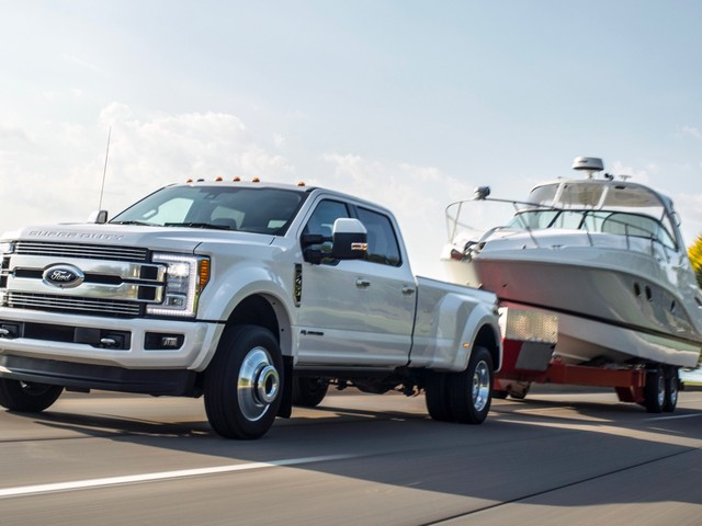 2018 Ford F-Series Super Duty now has up to 935 lb-ft of torque