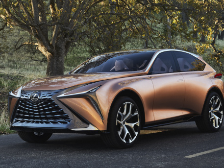 Lexus unveils LF-1 Limitless Concept; flagship luxury crossover with full range of options for electrified powertrains