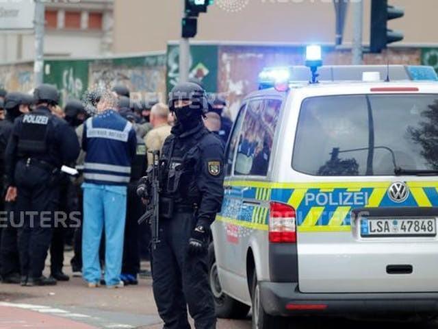 Twee doden bij antisemitische aanslag in Oostduitse plaats Halle