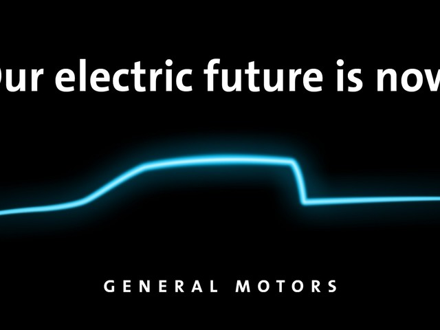 General Motors has teased its new electric truck