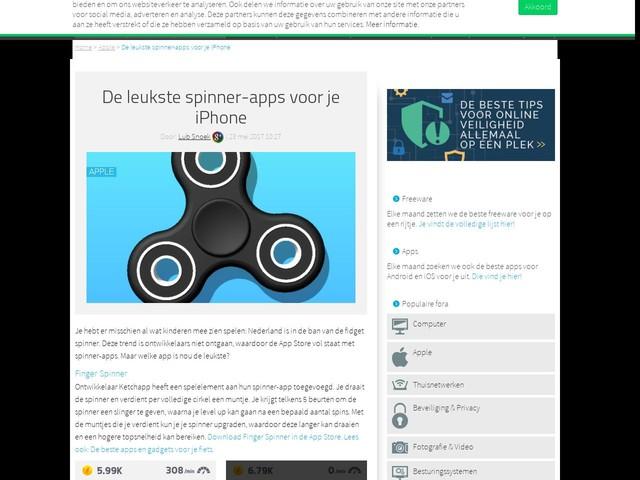 De leukste spinner-apps voor je iPhone