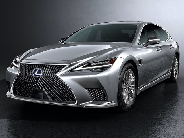 2021 Lexus LS gets a facelift and self-driving tech