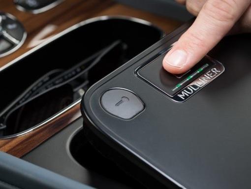 Touch and Go: Mulliner Offering Fingerprint-Lockable Storage in Bentley Bentayga