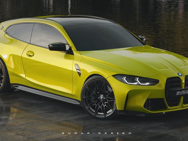 This BMW M4 Shooting Brake Render is Oddly Desirable