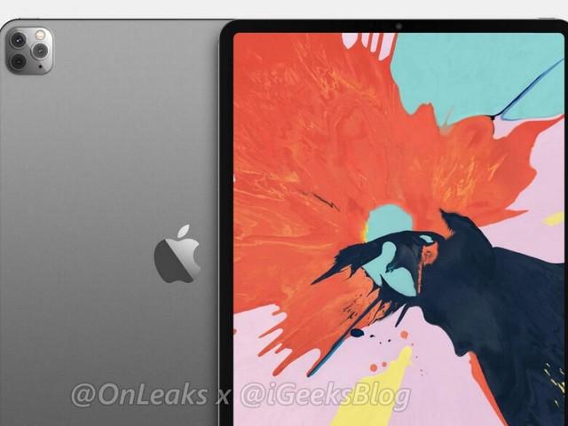 'iPad Pro 2020 met 12 inch-scherm en 3D-camerasensor komt in maart'