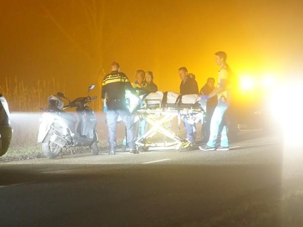 Scooterrijdster gewond in Olst