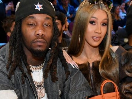 Offset Spends $8,000 On Custom Rolls Royce Car Seat For Kulture As He Rekindles Romance With Cardi B