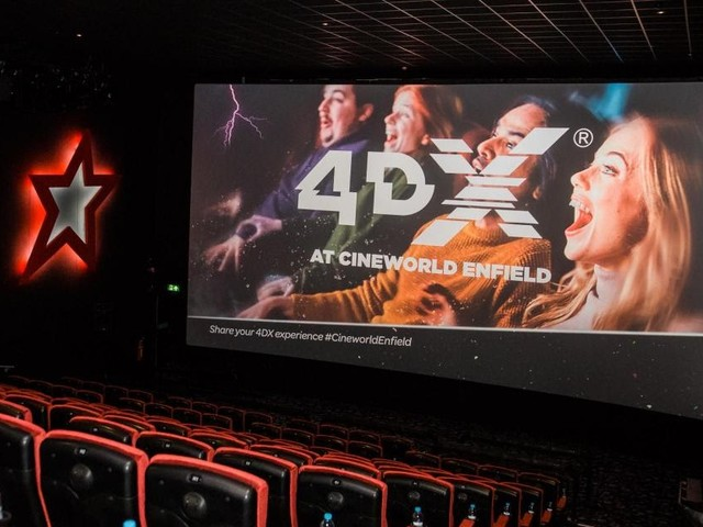 4DX - What Is It And Would Spielberg Approve?