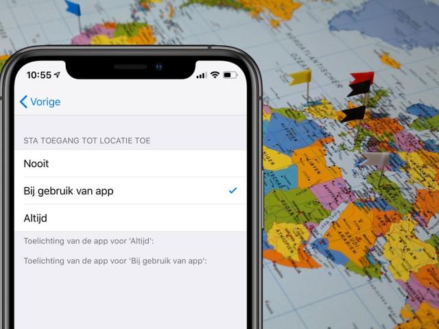 iOS 13 werpt zijn vruchten af: veel minder apps weten locatie van gebruikers