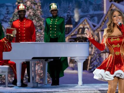'Mariah Carey's Magical Christmas Special' Premieres, J. Hud & Ariana Grande 'Oh Santa' Sing Alongside Elusive Chanteuse
