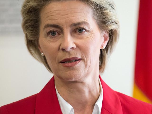Von der Leyen overtuigt sociaaldemocraten niet