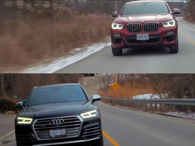Video: BMW X4 M40i Reviewed Against Audi SQ5