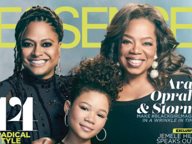 Magazine Covers: 'A Wrinkle In Time's' Oprah, Ava Duvernay And Storm Reid Front February Issue Of ESSENCE