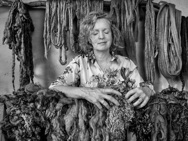 Textielontwerper Claudy Jongstra: 'Het oogt rauw maar is aaibaar'