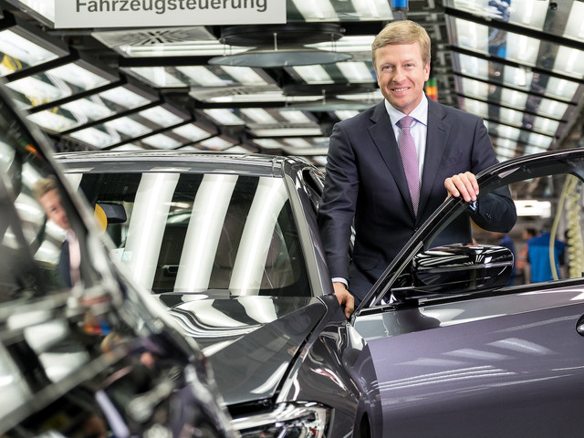 New BMW CEO Focused on Sales, Wants to Reclaim No 1 Spot