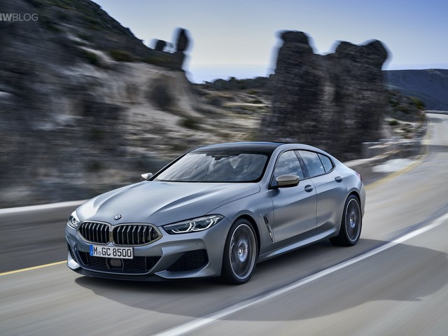 WORLD PREMIERE: The First Ever BMW 8 Series Gran Coupe