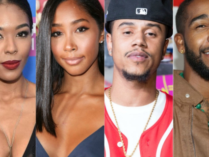 Messy! Moniece Claims Pregnant Apryl Jones & 'Bad Father' Fizz Shacked Up Over Mutual DISDAIN For Omarion