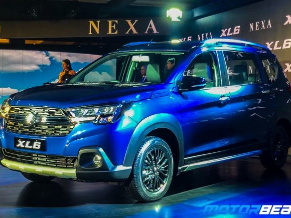 Maruti XL6 Launched, Priced From Rs. 9.79 Lakhs