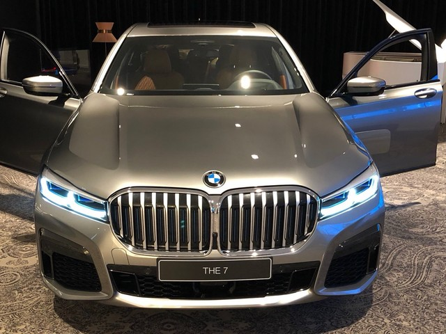 2020 BMW 7 Series: Here's another look at the facelift