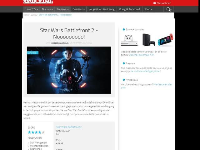 Star Wars Battlefront 2 - Nooooooooo!