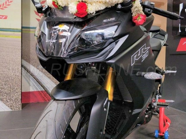 TVS Apache RR 310 Deliveries Commence