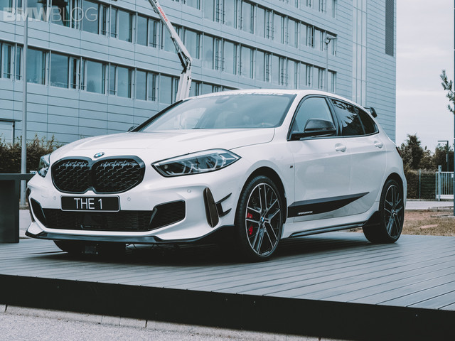 Exclusive look at the BMW M135i with M Performance Parts