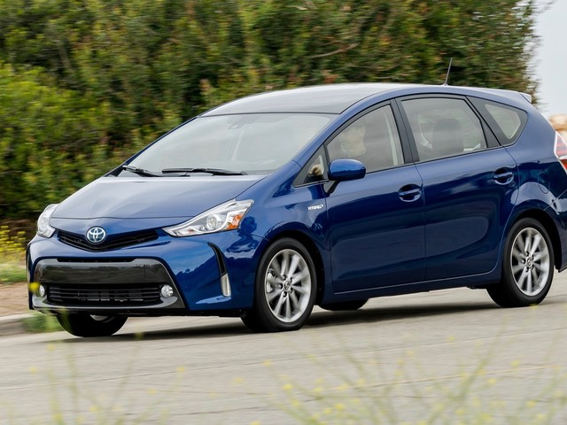 Toyota Prius V is done in the U.S.