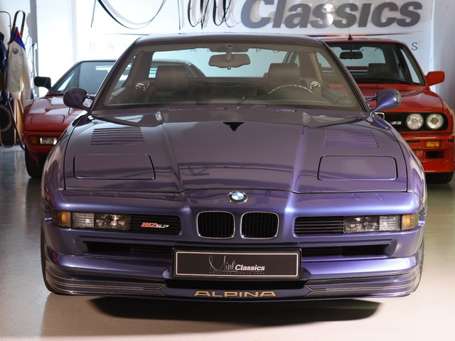 Extremely low-mileage ALPINA B12 5.7 is extremely expensive