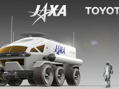JAXA and Toyota begin joint research into manned pressurized lunar rover