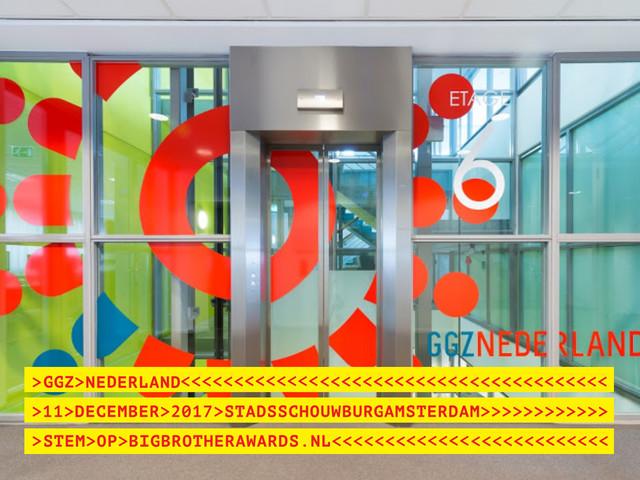 Publiek nomineert GGZ Nederland voor Big Brother Award