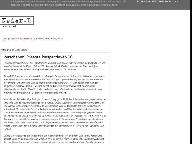 Verschenen: Praagse Perspectieven 10