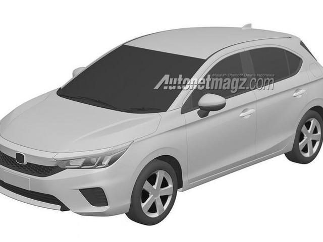 2020 Honda City Hatchback Design Revealed