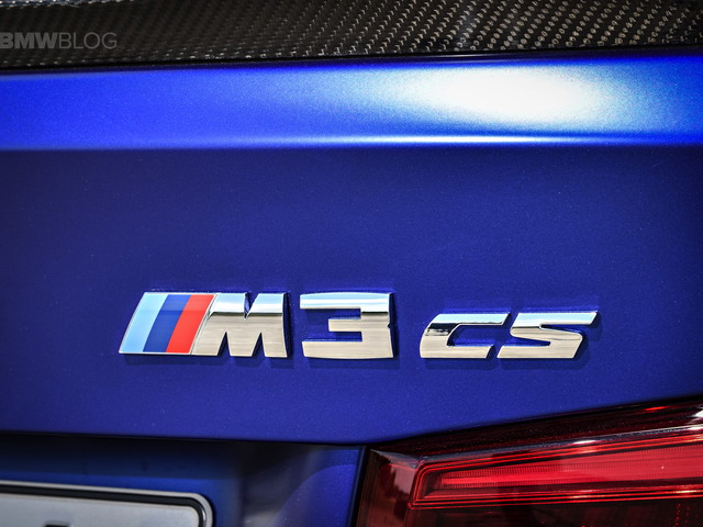 Report: BMW is already working on a G80 M3 CS version