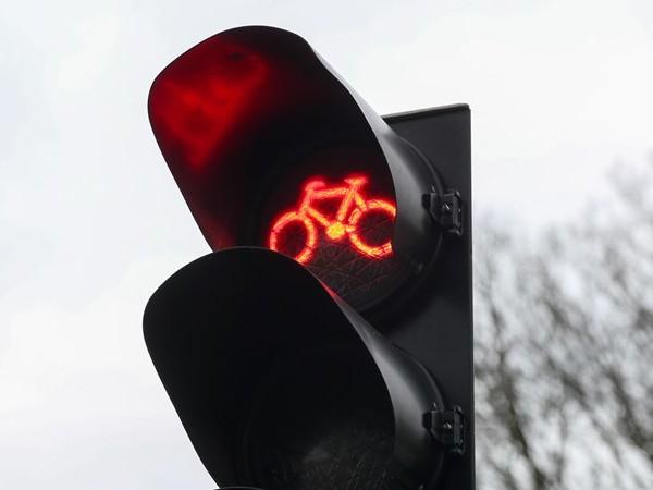 App maakt verleden tijd van wachten voor fietsstoplichten in Enschede