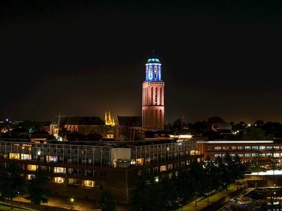 Zwolle wordt sfeervoller met nieuwe lichttechnieken