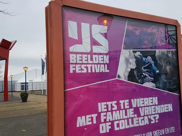 Bouw van IJsbeeldenfestival in Zwolle is begonnen