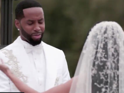 Fairytale? The Internet Won't Stop REACTING To Safaree And Erica Mena's Wedding Shenanigans