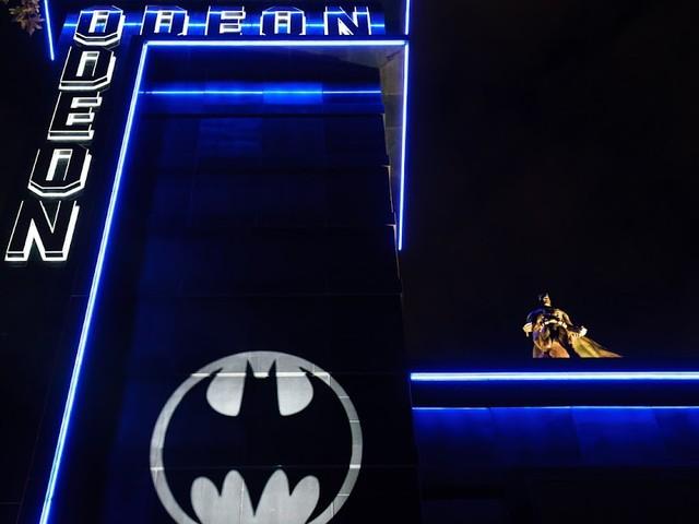 Bat-Signal Lights Up The UK Skies For Batman Day 2021