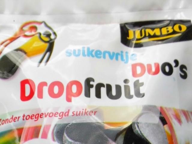 Suikervrije Duo's Dropfruit (Jumbo)