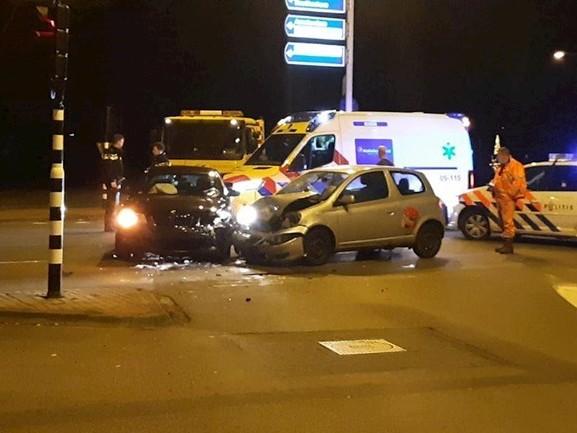 Veel schade en gewonde bij ongeluk in Enschede