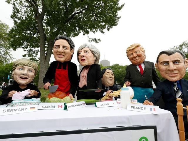De G7 in Canada legt de verdeeldheid van het Westen bloot