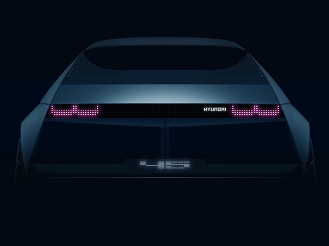 Hyundai 45 EV concept teased ahead of its Frankfurt debut