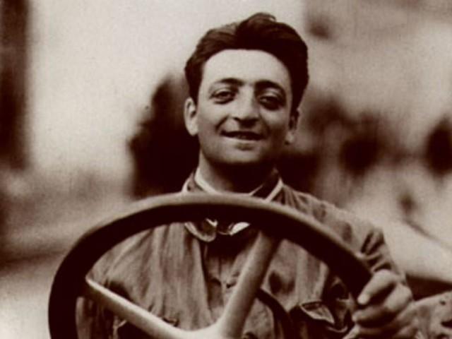Enzo Ferrari (1898 -1988) kon de wisselende emoties van een F1-bezoek niet meer verdragen